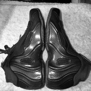 Nike Flightposites black carbon fiber sz10